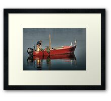 Fisherman and his Friend Framed Print