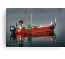 Fisherman and his Friend Canvas Print