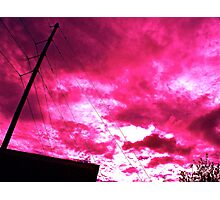 Redwire Sky Photographic Print