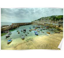 Mousehole Harbour 2 Poster