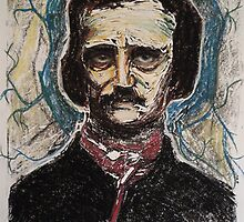 Poe, Dreaming Dreams by Raven Creature