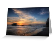 Seal Rocks, San Francisco Greeting Card