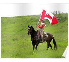 Bar U Ranch II, Canada Day 2010 Poster