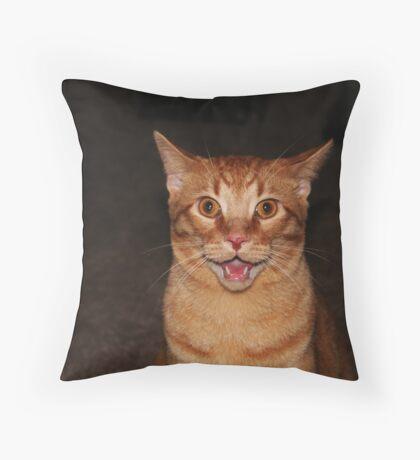 AAAHHHHH Throw Pillow