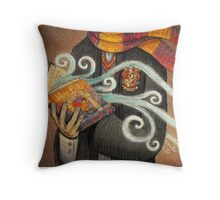 Harry Potter Books Magic Throw Pillow