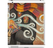 Harry Potter Books Magic iPad Case/Skin