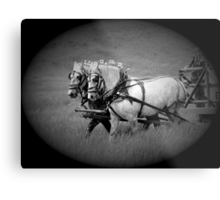 The Grey Team, Bar U Ranch Metal Print