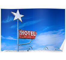 Old Motel Poster