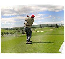 Golf Swing J Poster