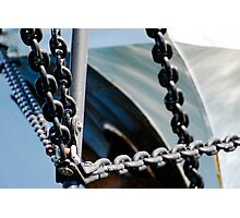 Chains of the Bow Photographic Print