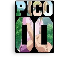 Boku no pico  Canvas Print