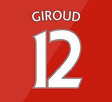 Arsenal - Giroud (12) 2015/16 by Thomas Stock