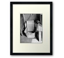 Ready For Laundry  Framed Print