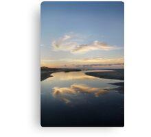 Sunrise over Tidal Pool Canvas Print