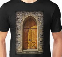 Easton Cemetery Chapel Door Unisex T-Shirt