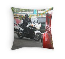 Hey, Keep your Eyes On the Road!!  Throw Pillow