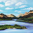 Beinn Laomainn and Loch Lomond by Jim Moore