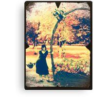 care of my wonderland Canvas Print