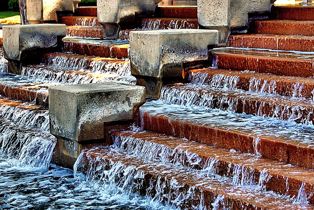 Water Stepping by Bob Wall