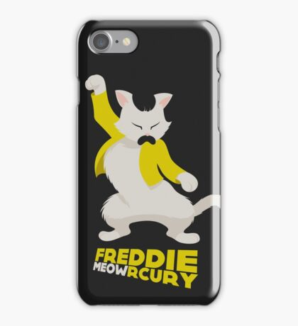 Freddie Meowrcury iPhone Case/Skin