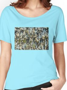 Seaweed Texture Women's Relaxed Fit T-Shirt