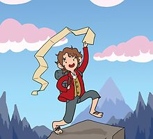 Adventure with Bilbo Baggins by Alysa Avery