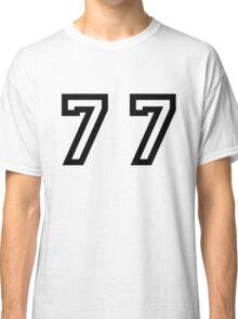 Number Seventy Seven Classic T-Shirt