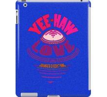 YEE-HAW... LOVE flies IN... iPad Case/Skin