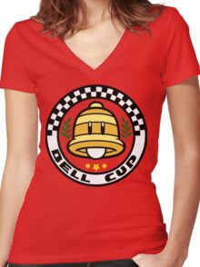 Bell Cup Women's Fitted V-Neck T-Shirt