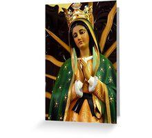 Virgin::Mary Greeting Card