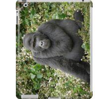 mountain gorilla, Uganda iPad Case/Skin