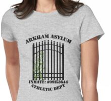Arkham Asylum, Inmate: Poison Ivy  Womens Fitted T-Shirt