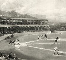 Vintage Baseball Game by Vintage Works