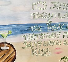 Dirty Heads Lay Me Down Quote Painting by naloi