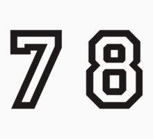 Number Seventy Eight by sweetsixty