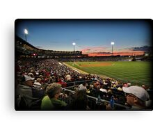 Right Field Corner Canvas Print