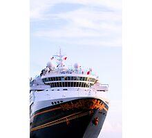 Disney Cruise Ship at Key West Florida Photographic Print