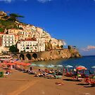 The colourful coast of Italy by LaPintura