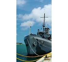 Naval Yard at Key West  Photographic Print