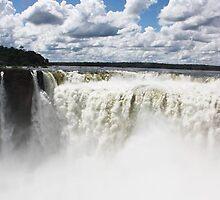 Iguazu Falls by Carol Bock