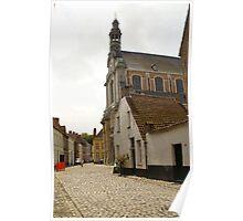 Beguinage Church - Lier - Belgium Poster
