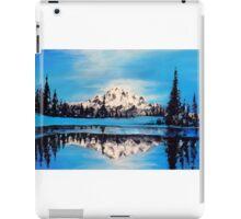 """Frozen Mountain Scene"" iPad Case/Skin"