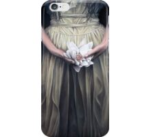 The illusion to hold a wedding bouquet iPhone Case/Skin