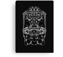 Singularity of the Masculine Inverted Canvas Print