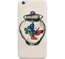 Jar of Butterflies iPhone Case/Skin