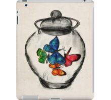 Jar of Butterflies iPad Case/Skin
