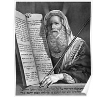 Moses and the Ten Commandments Poster