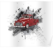 1949 Classic Truck Poster