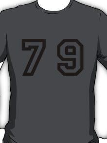 Number Seventy Nine T-Shirt