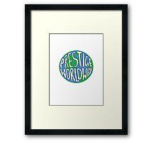 Prestige Worldwide Framed Print